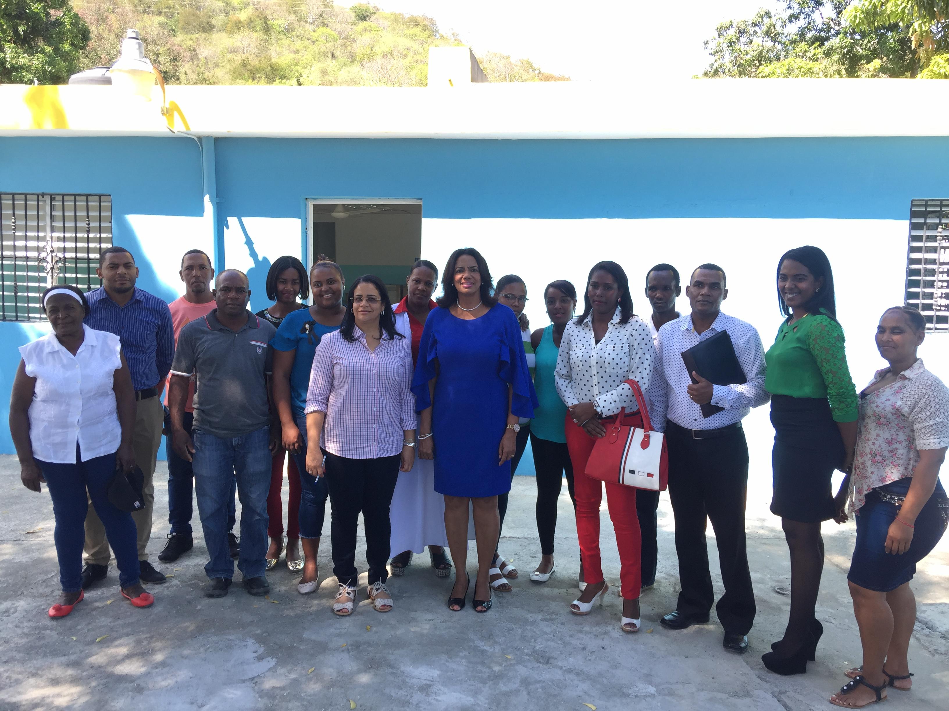 SRS Valdesia apertura Centro de Primer Nivel en Boca de Mana