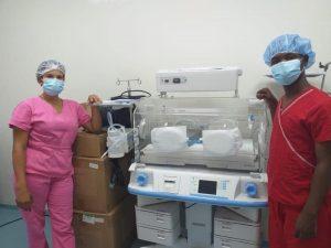 SNS entrega nuevos equipos al hospital de Haina